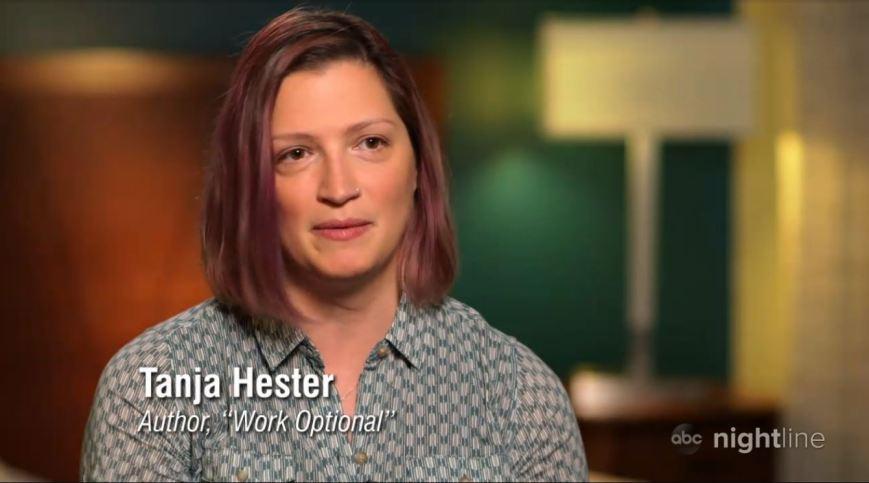 Tanja Hester, author of Work Optional, on ABC Nightline
